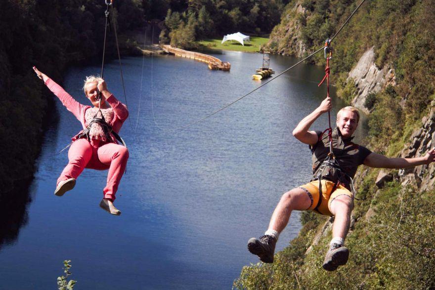 Adrenaline Quarry - Zip