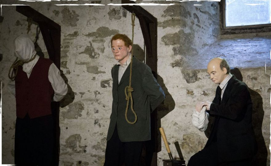 Bodmin Jail executions exhibit