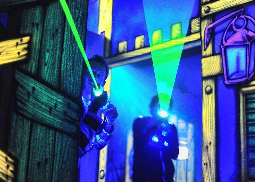 Skullduggery Laser Tag