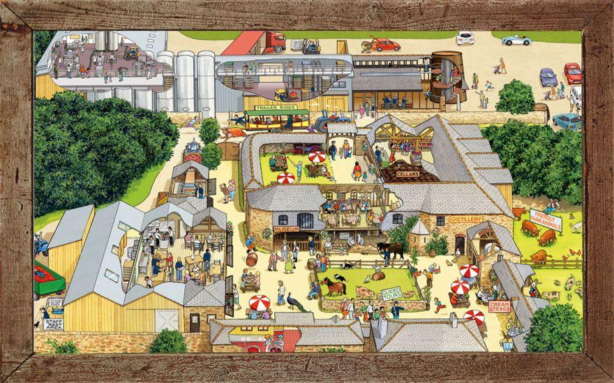 Healey's Cyder farm map