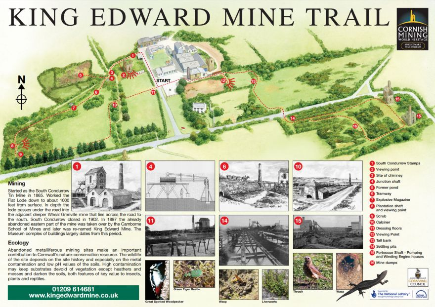 King Edward Mine Trail