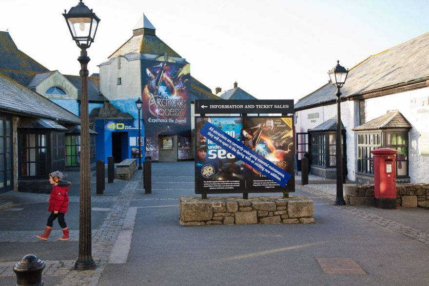 Land's End entertainment complex