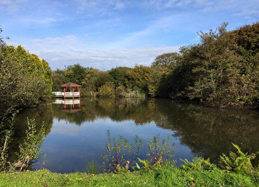 Springfields boating lake