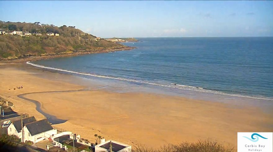 Carbis Bay Beach webcam