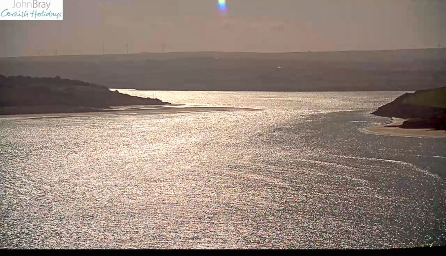 Daymer Bay / Greenaway Beach webcam