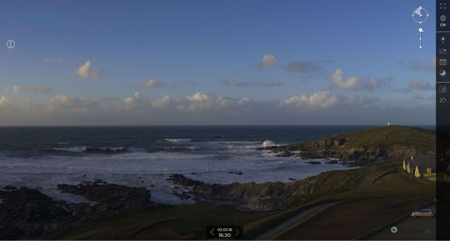 Fistral webcam