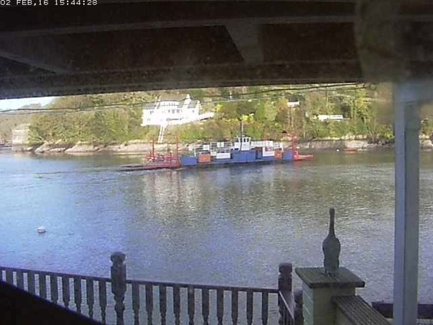 Fowey Ferry webcam