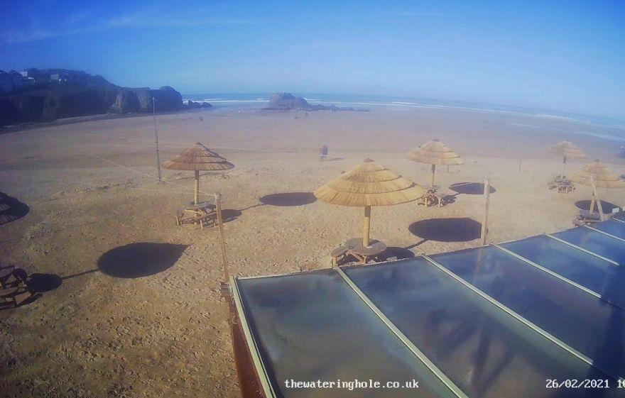 Perranporth Beach webcam