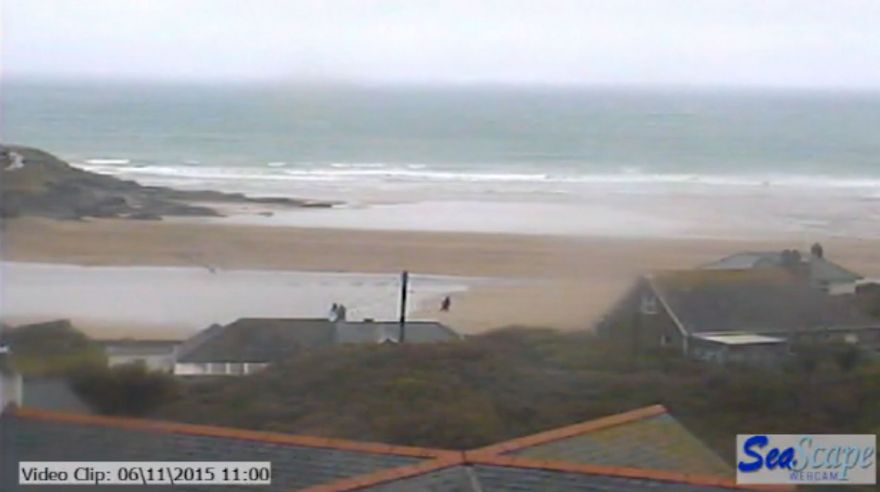 Polzeath beach webcam