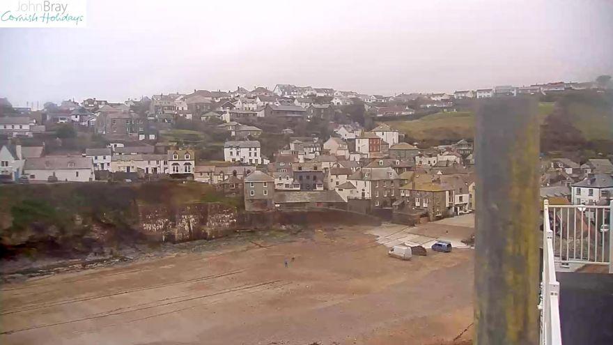 Port Isaac Harbour Webcam