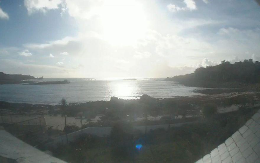 Porthcressa beach cam - Scilly
