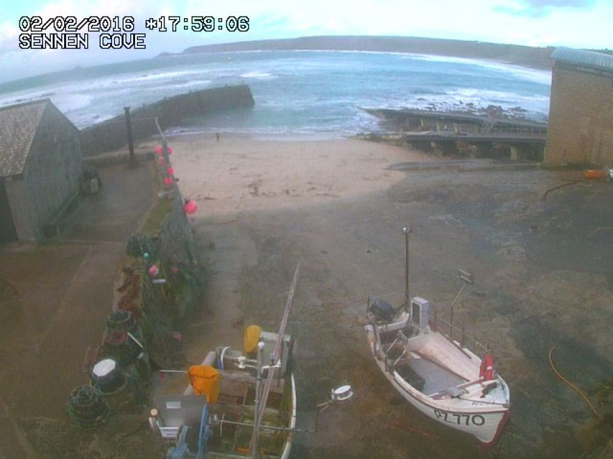 Sennen Cove Harbour webcam