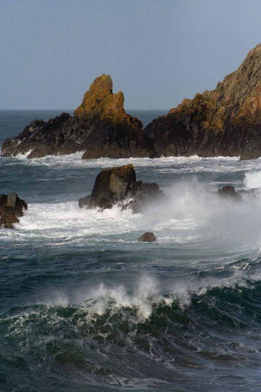 The Cornish Rocky Shoreline