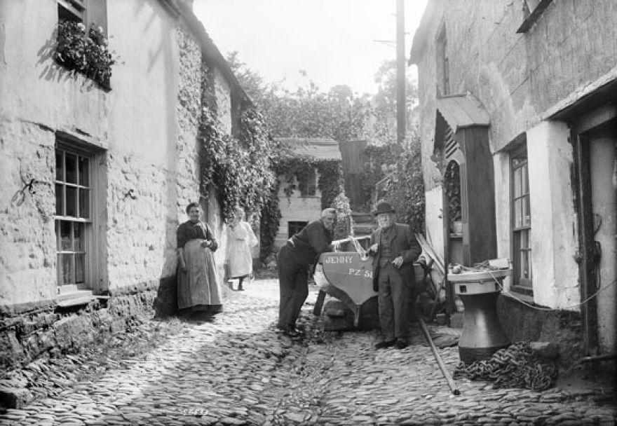 The Fradgan - Newlyn - 1906