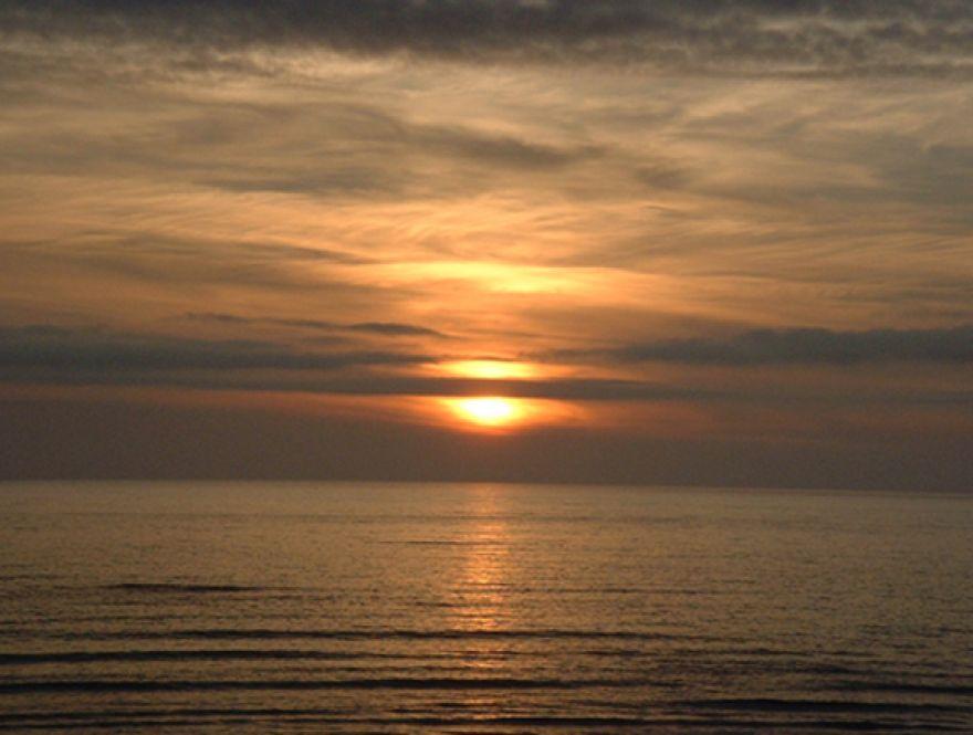 Cornish Sun set