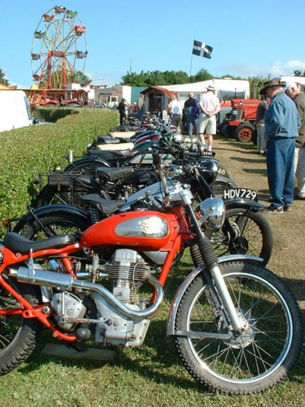 Motor Bikes spanning the ages