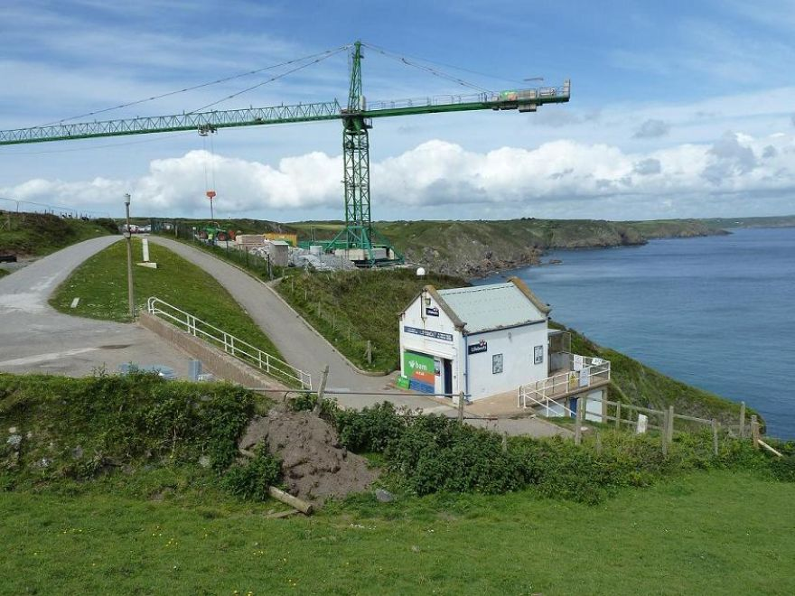 New Lifeboat Station Church Cove