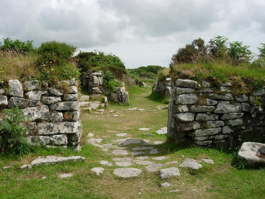 Old ruins Chyauster