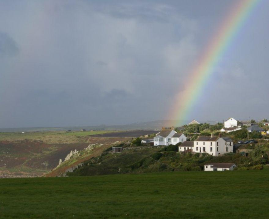 Rainbow over Sennen