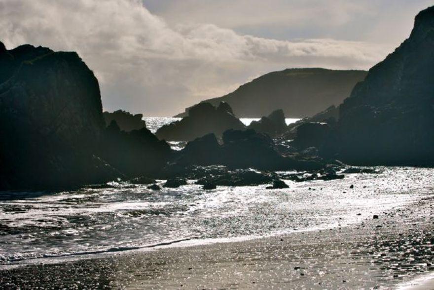 Kennark Sands winter sun