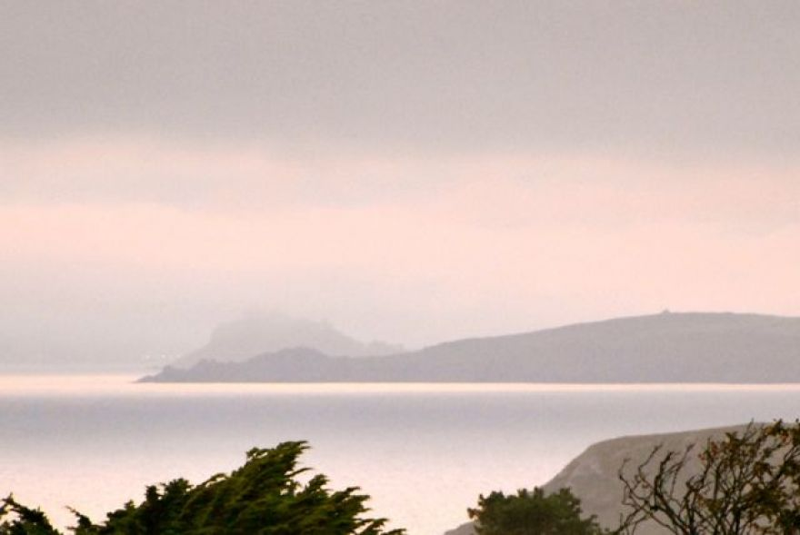 St Micheals Mount from Mullion