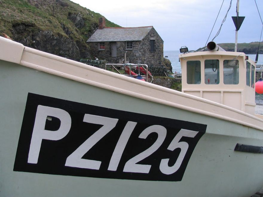 Mullion fishing boat