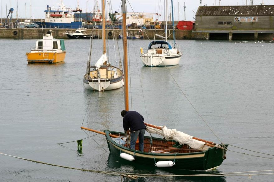 Getting ready to set sail - Penzance
