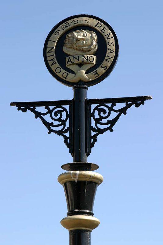 Flag poles in Causewayhead - Penzance