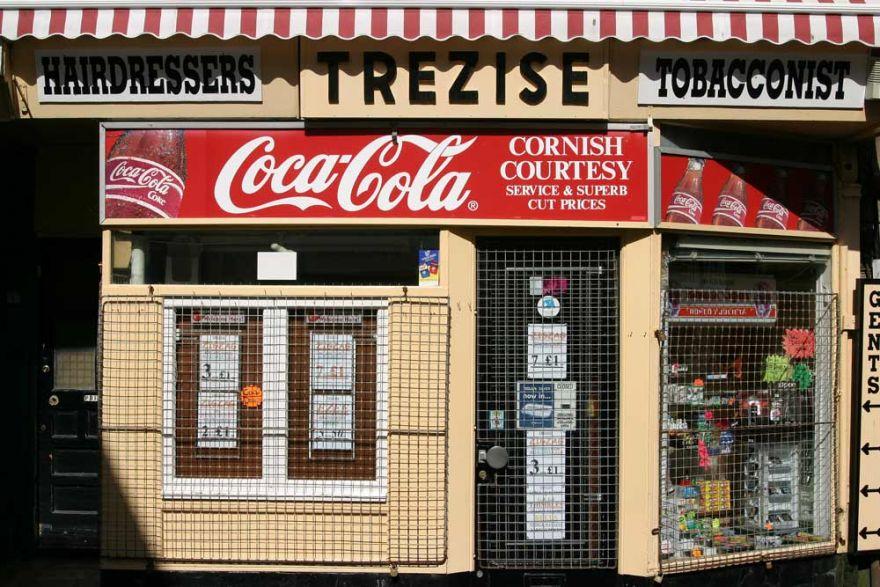 Trezise barbers, Causewayhead - Penzance