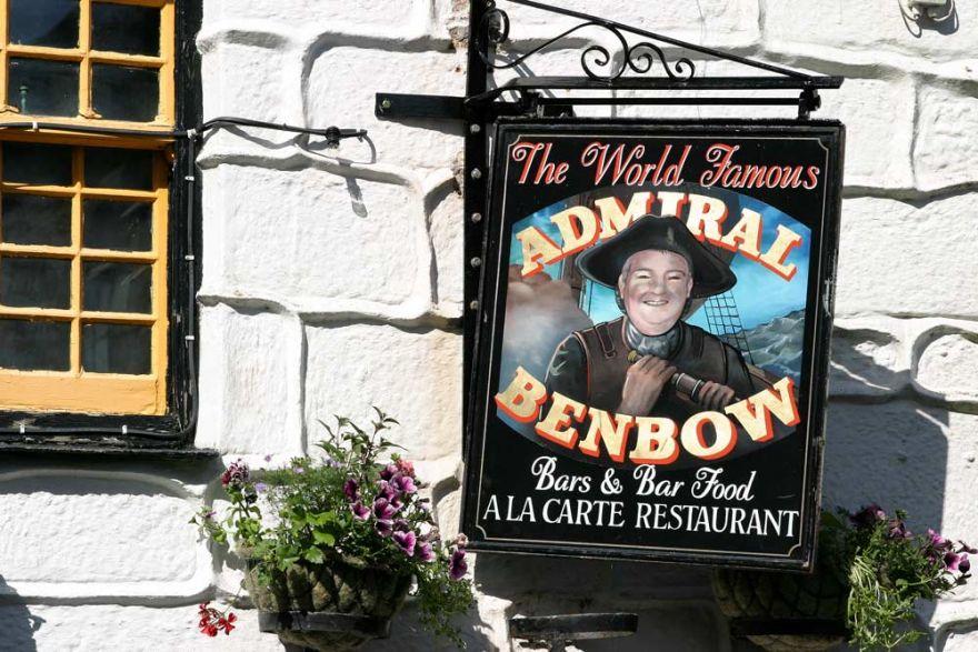 Admiral Benbow pub - Penzance