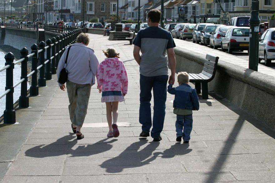 Taking a stroll along the Promenade - Penzance