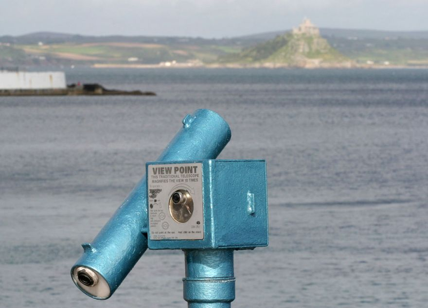 View point on the Promenade - Penzance