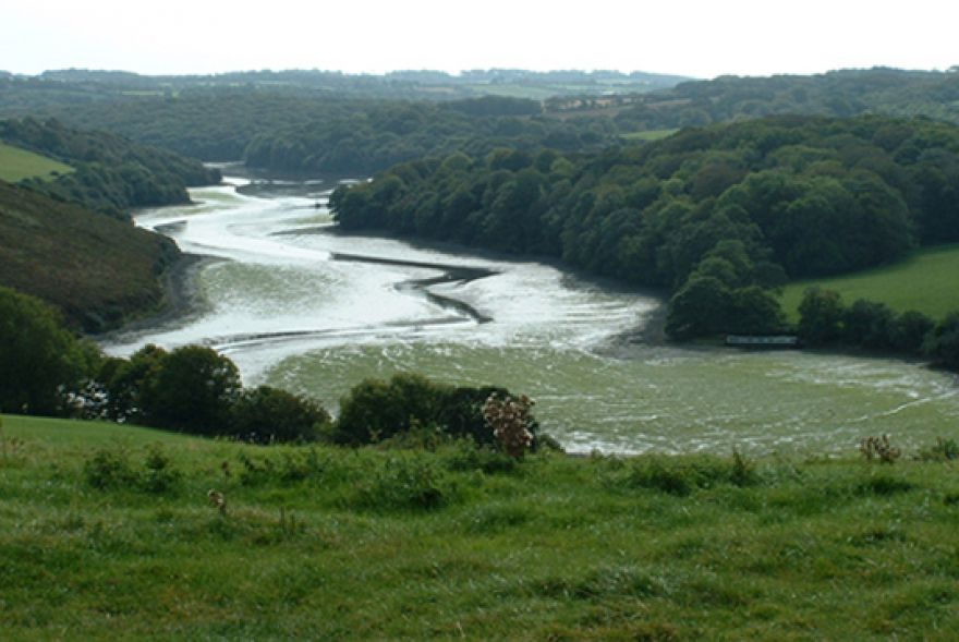 Not sure where the Helford River