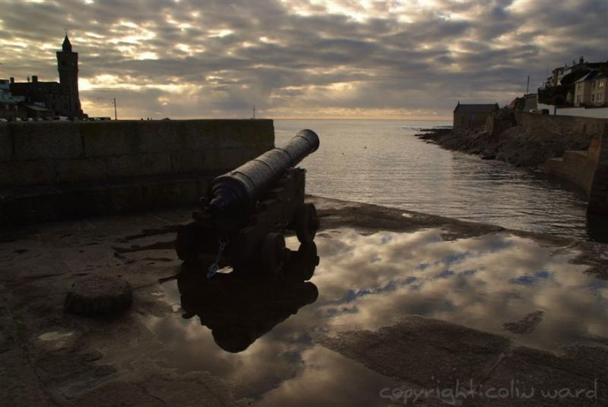 Cannon at Porthleven