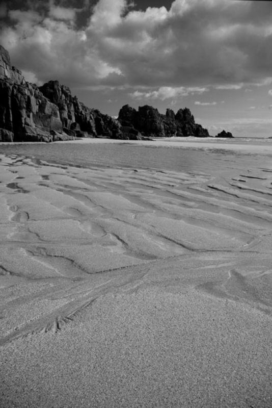 Sand ripple Pedn Vounder