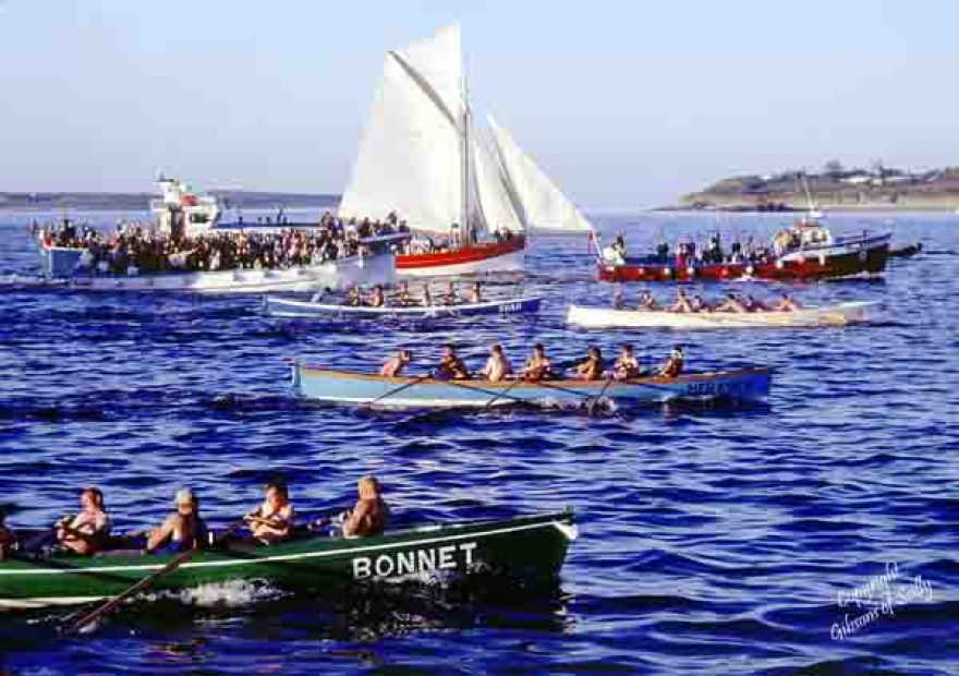 Pilot Gig Racing on the Scillies