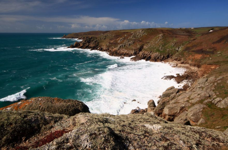 Between Porthgwarra and Porthcurno