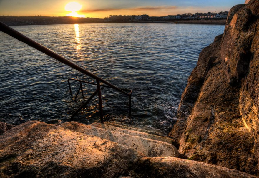 Sunset - Battery Rocks, Penzance