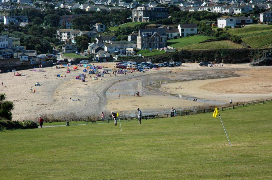 Golf by the Beach