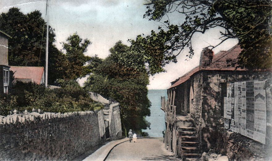 Beach Road - Newquay - 1900s