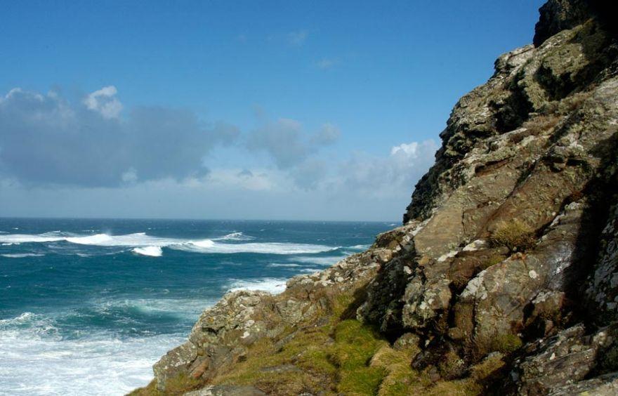 Blue Sky - Stormy Sea
