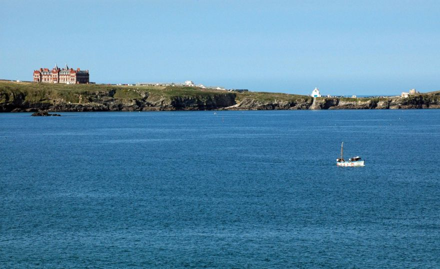 Fishing Boat - Towan Head - Newquay