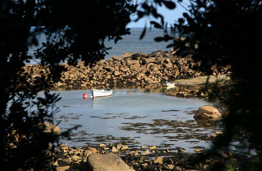 Boats at Cove Vean