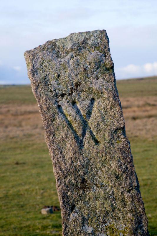 Bodmin Moor Boundary Stone