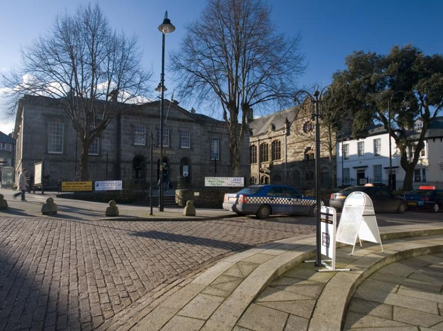 Mount Folly and Shire Hall - Bodmin