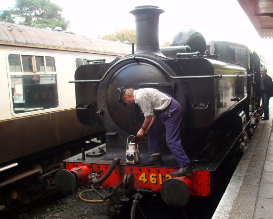 Steam Engine - Bodmin and Wenford Railway