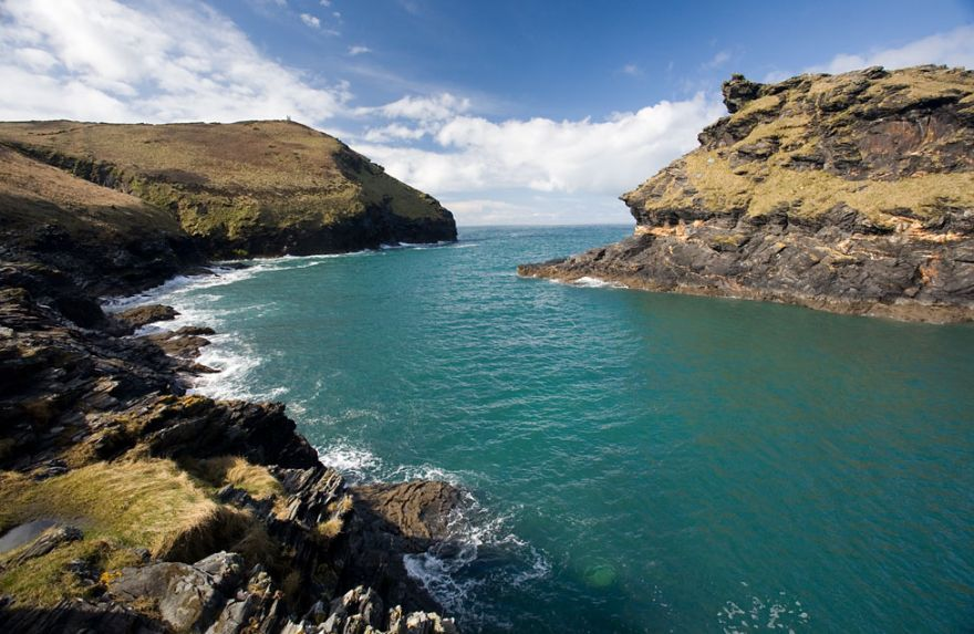 Boscastle Harbour Entrance