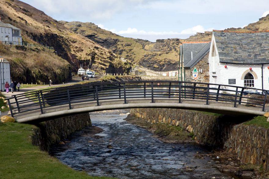 New Boscastle Lower Bridge