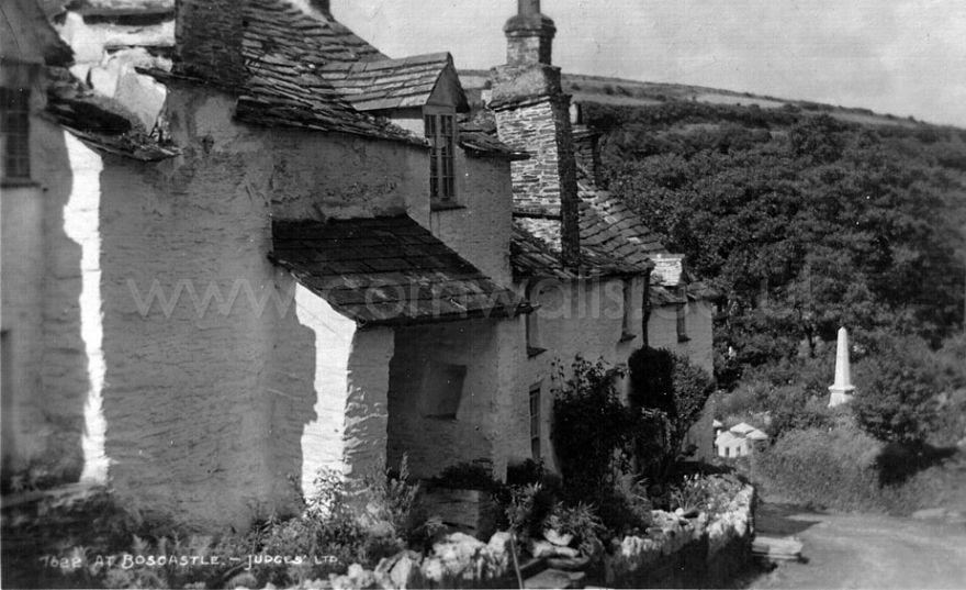 Boscastle - Dunn Street, 1920s