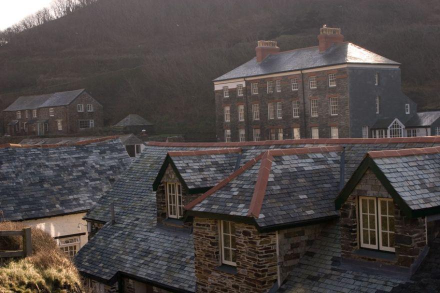 Delabole Slate Houses - Boscastle